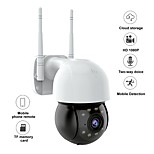 economico -1080p hd ptz ip camera wireless wifi cctv telecamere di sorveglianza di sicurezza dome mini ai rilevamento umano visione notturna audio talk