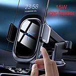 economico -15 W Potenza di uscita Altro Caricatore veloce Caricatore senza fili Caricabatterie per auto wireless Caricatore senza fili Ricarica veloce Per Cellulari