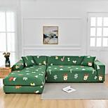 economico -colore verde natale antipolvere onnipotente copridivano elasticizzato a forma di l copridivano in tessuto super morbido protettore per mobili con una custodia boster gratuita