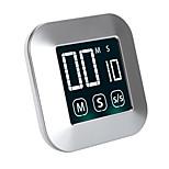 economico -ts-tp83 timer touch screen da cucina timer conto alla rovescia display lcd multifunzione timer cronometro allarme gadget da cucina magnetici
