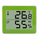 economico -TS-E01 Portatile / Multi-funzione Igrometri Misurazione della temperatura e dell'umidità, Display LCD retroilluminato