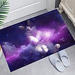 economico -tappetino da bagno con stampa digitale per gattini magici tappetini da bagno moderni in tessuto non tessuto / memory foam