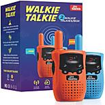 abordables -talkies-walkies pour enfants (2 pièces) - jouets d'extérieur pour enfants - talkie-walkie longue portée pour enfants - convivial& facile à utiliser - couleurs vives et amusantes - léger et