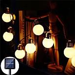 economico -LED luci stringa solare esterno impermeabile 3.5 m g50 retro lampadina fata luce stringa festa di nozze di natale giardino terrazza lampada decorazione della casa del caffè