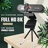 abordables -conférence pc webcam autofocus usb web caméra ordinateur portable bureau pour bureau réunion à domicile avec micro 1080p hd web cam 8802 version 8k