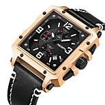 economico -orologio da esterno quadrato da esterno sportivo da uomo con cinturino grande orologio al quarzo