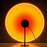 economico -lampada di proiezione del tramonto ha condotto la luce, lampada di illuminazione d'atmosfera visiva romantica, luce rossa della rete di rotazione di 90 gradi, luce notturna moderna del supporto da pavimento per l'arredamento della camera da letto del sogg