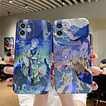 economico -Jujutsu Kaisen telefono Custodia Per Apple Per retro iPhone 12 Pro Max 11 SE 2020 X XR XS Max 8 7 Resistente agli urti A prova di sporco Cartoni animati TPU