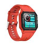 economico -696 FT10 Unisex Braccialetti intelligenti Bluetooth Monitoraggio frequenza cardiaca Misurazione della pressione sanguigna Sportivo Calorie bruciate Informazioni Cronometro Pedometro Monitoraggio del