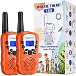 abordables -talkies-walkies pour enfants, 3 km longue portée 22 canaux radios bidirectionnelles pour garçons et filles, talkie-walkie pour enfants de 3 à 12 ans, jouets extérieurs pour la randonnée, camping (1
