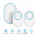 economico -tuya alarm host with wireless 433mhz wifi campanello funzione campanello kit outdoor campanello indoor chime wifi smart doorbell