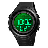economico -SKMEI Per uomo Orologio sportivo Digitale Digitale Sportivo Alla moda Calendario Cronografo Allarme sveglia / Un anno / Silicone