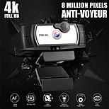 abordables -caméra d'ordinateur 12 millions de pixels af autofocus 60fps réseau hd caméra en direct usb lecteur gratuit version 4k
