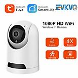 economico -tuya smartlife 1080p telecamera ip wireless wifi mini telecamera 2mp monitoraggio automatico sorveglianza di sicurezza telecamera cctv ptz baby monitor