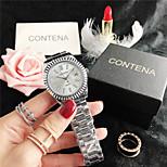 economico -orologio da donna semplice con diamanti con strass grandi orologi di marca