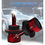 economico -otolampara 120w h1 auto led h3 lampadina di ricambio del faro 880 super brillante leggerezza alta luce anabbagliante 9004 faro impermeabile 9005 h11 fendinebbia h13 per ford / chevorlet / toyota / gmc
