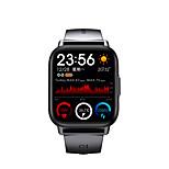 economico -qs16 pro smartwatch a lunga durata della batteria per telefoni apple / android, tracker sportivo da 1,69 pollici supporto misurazione frequenza cardiaca / pressione sanguigna