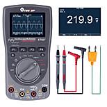 economico -Oscilloscopio di memorizzazione digitale intelligente 2 in 1 multimetro tester per oscilloscopi automatici con una chiave 40 mhz 200 msps / s 6000 conteggi true rms
