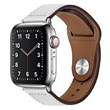 economico -Cinturino intelligente per Apple  iWatch 1 pcs Chiusura moderna Similpelle Sostituzione Custodia con cinturino a strappo per Apple Watch Serie SE / 6/5/4/3/2/1