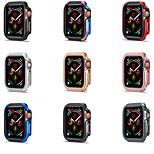 economico -Custodie Per Apple  iWatch Apple Watch Serie 6 / SE / 5/4 44 mm / Apple Watch Serie  6 / SE / 5/4 40mm TPU / Lega Proteggi Schermo Custodia per Smartwatch  Compatibilità 40 mm 44mm