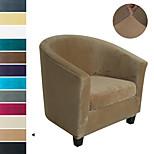 economico -Copridivano singolo in velluto di volpe argentata affettato super morbido stile europeo transfrontaliero internet cafe hotel coffee shop divano copertura della sedia