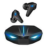 economico -K55 Auricolari wireless Cuffie TWS Bluetooth5.0 Standby lungo Per videogiochi Microfono incorporato per Apple Samsung Huawei Xiaomi MI Da gioco