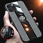 abordables -téléphone Coque Pour Apple Coque Arriere iPhone 12 Pro Max 11 SE 2020 X XR XS Max 8 7 6 Antichoc Avec Support Couleur Pleine PC