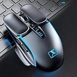 economico -transfrontaliera nuova alleanza m215 mouse wireless ricaricabile notebook computer desktop mouse da gioco meccanico transfrontaliero