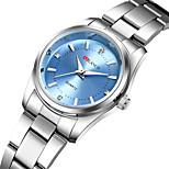 economico -orologio da donna al quarzo impermeabile orologi in acciaio inossidabile