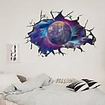 economico -Pasta da parete 3d muro rotto via lattea pianeta mercurio pasta da parete per la decorazione della parete del soffitto