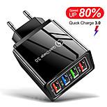 economico -18 W Potenza di uscita Altro Caricabatterie portatile Caricabatteria di Muro Portatile Multiuscita Per iPad Cellulari