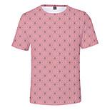 abordables -Inspiré par Tueur de démons Cosplay Costume de Cosplay Manches Ajustées Térylène Graphique Imprimé Tee-shirt Pour Femme / Homme