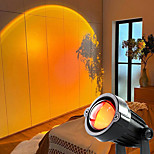 economico -lampada da proiezione al tramonto proiettore arcobaleno atmosfera a led luce notturna bar per la casa lampade per proiettori da interno luci decorative per esterni