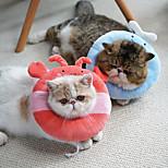 economico -Prodotti per cani Prodotti per gatti Cono dell'animale domestico Collare per il recupero dell'animale domestico Elizabeth cerchio Regolabile Allevia lo stress Sicurezza Guarigione delle ferite con