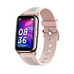 economico -696 H76 Per donna Braccialetti intelligenti Bluetooth Monitoraggio frequenza cardiaca Misurazione della pressione sanguigna Calorie bruciate Assistenza sanitaria Controllo fotocamera Cronometro