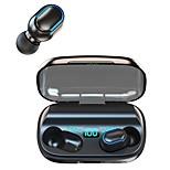 economico -TWS-T11 Auricolari wireless Cuffie TWS Bluetooth5.0 Stereo Con la scatola di ricarica Accoppiamento automatico per Apple Samsung Huawei Xiaomi MI Cellulare