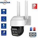 economico -hd 1080p dual-lens ptz wifi camera outdoor auto tracking cctv 4x zoom home security ip camera pan tilt 2mp speed dome camera