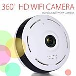 economico -Telecamera panoramica wifi v380 Telecamera fisheye wifi 1080p Telecamera cctv di sicurezza wireless Telecamera panoramica wifi a 360 ° Rilevazione del movimento
