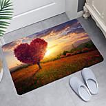 economico -huahai love tree tappetino da bagno con stampa digitale tappetini da bagno moderni non tessuti / memory foam novità bagno
