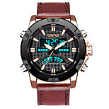 economico -orologio da uomo impermeabile con doppio display sportivo orologio digitale multifunzionale in lega