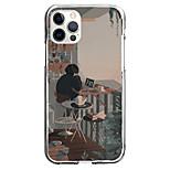 economico -vintage street corner case for apple iphone 12 11 se2020 design unico custodia protettiva antiurto custodia trasparente tpu per iphone 12 pro max xr xs max iphone 8 7