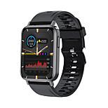 economico -t10pro smartwatch a lunga durata della batteria per telefoni apple / android, tracker sportivo resistente all'acqua supporto chiamata bluetooth e misurazione della frequenza cardiaca / pressione sanguigna