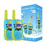 abordables -Talkies-walkies pour enfants Jouet radio 2 voies 22 canaux avec lampe de poche LCD rétroéclairée pour garçons de 3 à 12 ans, portée de 3 miles pour l'extérieur, camping, randonnée