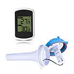 economico -TS-WS-42 Portatile / Multi-funzione Riscaldatore Descrizione dell'indicazione LED, Misurazione della temperatura e dell'umidità, Display LCD