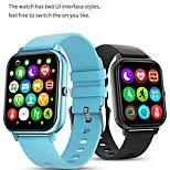 economico -smartwatch kt50 per telefoni apple / android, supporto per tracker sportivo chiamata bluetooth e misurazione della frequenza cardiaca / pressione sanguigna