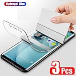 economico -telefono Proteggi Schermo Apple S21 S21 Plus S21 Ultra Galaxy A32 Galaxy A52 Film idrogel 3 pezzi Alta definizione (HD) Ultra sottile Autoguarigione Proteggi-schermo frontale Appendini per cellulare
