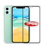 economico -telefono Proteggi Schermo Apple S21 S21 Plus S21 Ultra iPhone 12 iPhone 11 Vetro temperato 3 pezzi Alta definizione (HD) A prova di esplosione Proteggi-schermo frontale Appendini per cellulare
