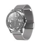 economico -MX12 Unisex Intelligente Guarda Bluetooth Monitoraggio frequenza cardiaca Misurazione della pressione sanguigna Calorie bruciate Assistenza sanitaria Informazioni Cronometro Pedometro Avviso di