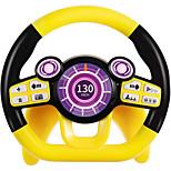 abordables -jouets de siège de voiture de volant avec lumière et musique semblant conduire des jouets éducatifs d'apprentissage pour 1 2 3 ans garçons et filles