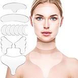 economico -adesivo in silicone riutilizzabile per la rimozione delle rughe viso fronte collo adesivo per gli occhi pad anti rughe invecchiamento skin lifting care patch